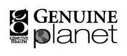 GENUINE PLANET G GENUINE HEALTH