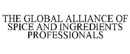 THE GLOBAL ALLIANCE OF SPICE AND INGREDIENTS PROFESSIONALS