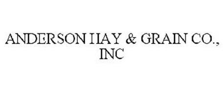 ANDERSON HAY & GRAIN CO., INC