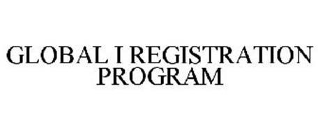 GLOBAL I REGISTRATION PROGRAM