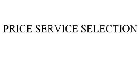 PRICE SERVICE SELECTION