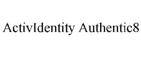 ACTIVIDENTITY AUTHENTIC8