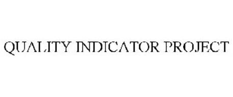 QUALITY INDICATOR PROJECT