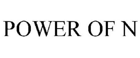 POWER OF N