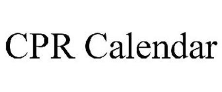 CPR CALENDAR