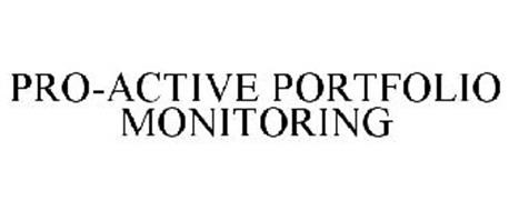 PRO-ACTIVE PORTFOLIO MONITORING