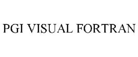 PGI VISUAL FORTRAN