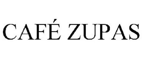 Café Zupas Trademark Of Zullas Lc Serial Number 78941388