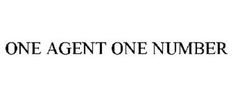 ONE AGENT ONE NUMBER
