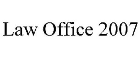 LAW OFFICE 2007