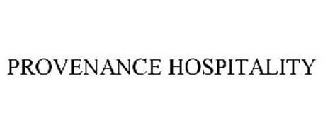 PROVENANCE HOSPITALITY