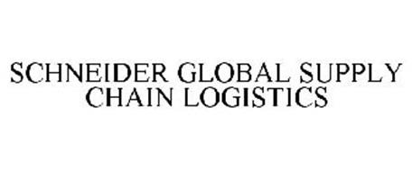 SCHNEIDER GLOBAL SUPPLY CHAIN LOGISTICS