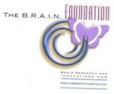 THE B.R.A.I.N. FOUNDATION BRAIN RESEARCH AND INNOVATIONS NOW WWW.THEBRAINFOUNDATION.COM