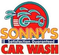 SONNY'S CAR WASH SATISFACTION GUARANTEED
