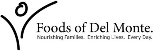 FOODS OF DEL MONTE. NOURISHING FAMILIES. ENRICHING LIVES. EVERY DAY.
