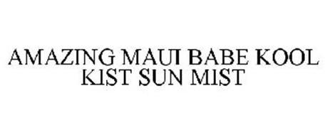 AMAZING MAUI BABE KOOL KIST SUN MIST