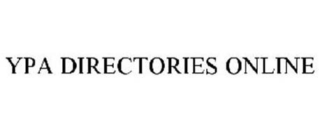 YPA DIRECTORIES ONLINE