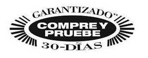 COMPRE Y PRUEBE GARANTIZADO 30-DIAS