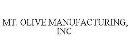 MT. OLIVE MANUFACTURING, INC.