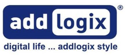 ADD LOGIX DIGITAL LIFE ... ADDLOGIX STYLE