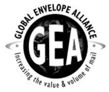 GEA · GLOBAL ENVELOPE ALLIANCE · INCREASING THE VALUE & VOLUME OF MAIL