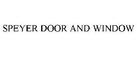 SPEYER DOOR AND WINDOW