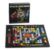 SPACE CHECKERS THE OUT OF THIS WORLD STRATEGY GAME