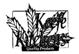 KEEFE KITCHENS QUALITY PRODUCTS