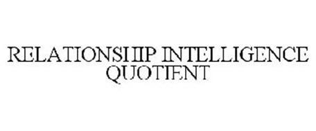 RELATIONSHIP INTELLIGENCE QUOTIENT