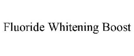 FLUORIDE WHITENING BOOST