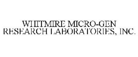 WHITMIRE MICRO-GEN RESEARCH LABORATORIES, INC.
