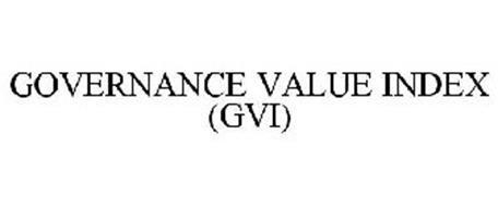 GOVERNANCE VALUE INDEX (GVI)