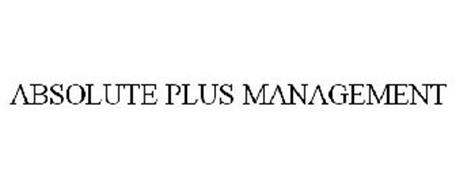 ABSOLUTE PLUS MANAGEMENT
