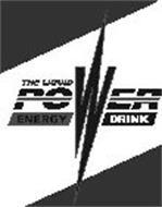THE LIQUID POWER ENERGY DRINK