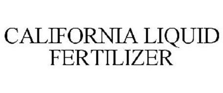 CALIFORNIA LIQUID FERTILIZER