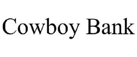 COWBOY BANK