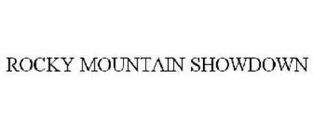 ROCKY MOUNTAIN SHOWDOWN