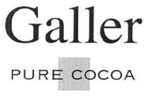 GALLER PURE COCOA
