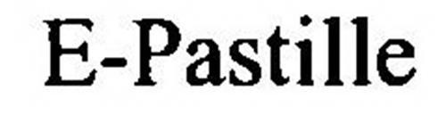 E-PASTILLE