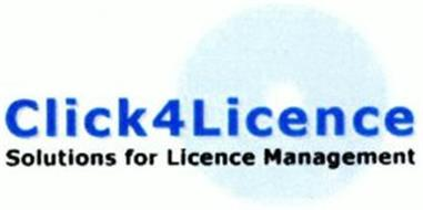 CLICK4LICENCE SOLUTIONS FOR LICENCE MANAGEMENT