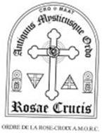 Cro Maat Antiquus Mysticusque Ordo Rosae Crucis Ordre De La Rose