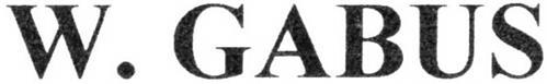 W. GABUS