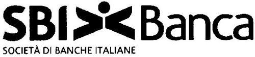 SBI BANCA SOCIETÀ DI BANCHE ITALIANE