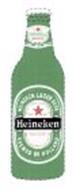 HEINEKEN LAGER BEER BREWED IN HOLLAND