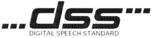 DSS DIGITAL SPEECH STANDARD
