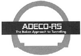 ADECO-RS THE ITALIAN APPROACH TO TUNNELLING