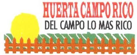 HUERTA CAMPO RICO DEL CAMPO LO MAS RICO