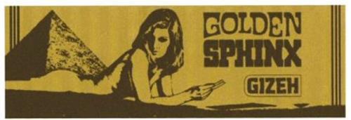 GOLDEN SPHINX GIZEH