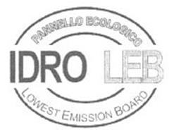 PANNELLO ECOLOGICO IDRO LEB LOWEST EMISSION BOARD