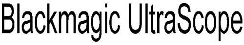 BLACKMAGIC ULTRASCOPE